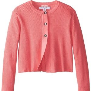 Brooks Brothers Cropped Cardigan Sweater